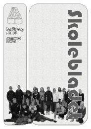 Skoleblad 2009 - Hadbjerg Skole