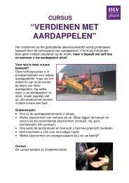 pdf cursus Verdienen met aardappelen - DLV Plant