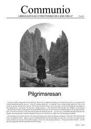 Pilgrimsresan - Liberala katolska kyrkan
