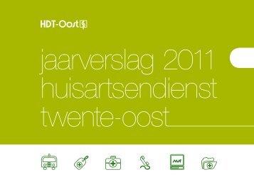 Jaarverslag 2011 HDT-Oost - Huisartsendienst Twente-Oost