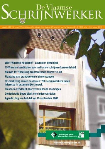 Vlaamse Schrijnwerker_augustus_2008.pdf - Magazines Construction