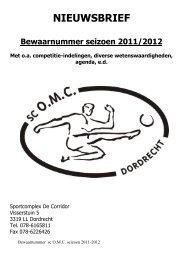 Nieuwsbrief Nr1 (Bewaarnummer) - sportclub OMC