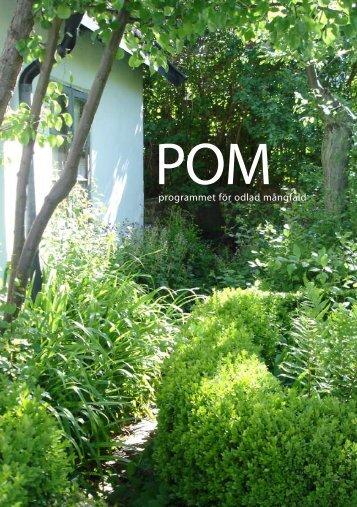 POM - Botaniska trädgården