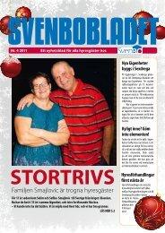 Familjen Smajlovic är trogna hyresgäster - Svenbo