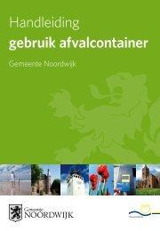 Handleiding gebruik afvalcontainer - Gemeente Noordwijk