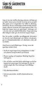 SE UPP FÖR LUFTLEDNINGAR - Page 2