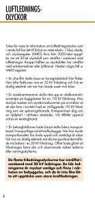 SE UPP FÖR LUFTLEDNINGAR - Page 6