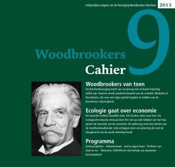 WoodbrookersCahier nummer 9 - Vereniging Woodbrookers Barchem