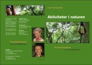 Aktiviteter i naturen - FriluftsTeamet