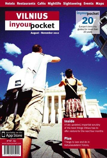VILNIUS - In Your Pocket