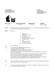 Referat november - Brøndby Strand