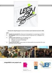 Lees hier een verslag van de voorstellen van de jongeren