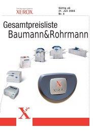 NEU - Baumann & Rohrmann Gmbh