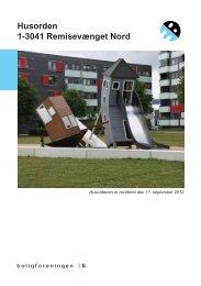 Husorden 1-3041 Remisevænget Nord - Boligforeningen 3B