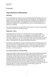 Förslag till Regionalpolitiska utbildningsmål 2000 ... - GR Utbildning