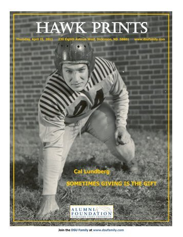 HAWK PRINTS - Dickinson State University