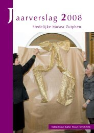 Nevenactiviteiten Musea Zutphen
