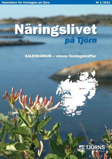 Näringslivet på Tjörn 2012_1.pdf - Tjörns kommun