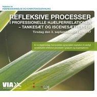 REFLEKSIVE PROCESSER - kirstenbro.dk