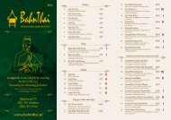 Klik hier voor onze menukaart - Bahn Thai
