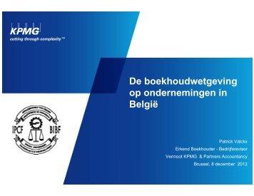 Boekhoudrecht in België - Corpora Finance