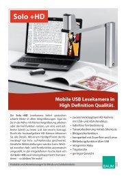 Solo +HD Prospekt - BAUM Retec AG