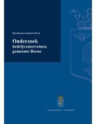 Onderzoek bedrijventerreinen - Bestuurlijke informatie gemeente ...