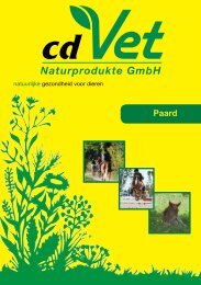 cdVet Paard 2011 - Perfect Natural Solutions