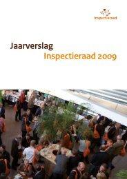 Jaarverslag Inspectieraad 2009 - Inspectieloket