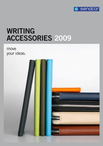 WRITING ACCESSORIES 2009