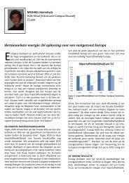 Hernieuwbare energie: Dé oplossing voor een ... - Energy Outlook