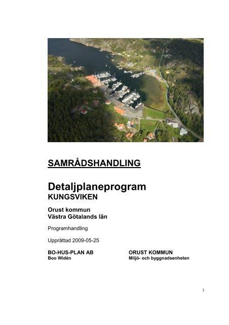Kungsviken progrbeskr 090525 - Orust kommun
