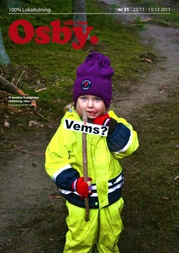 OSBY - 100% lokaltidning
