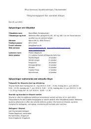 Varslet tilsyn Boområdet 18. juni 2010 (pdf 188 KB) - Aarhus.dk