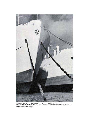 Argentinean Reefer 1941 - Handels- og Søfartsmuseet