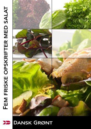 Dansk Grønt salathæfte - freshchoice.dk
