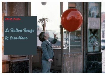 lesmap le ballon rouge & crin blanc - Lessen in het donker
