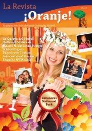 revista Oranje2 - Nederlandse Vereniging Madrid - Activiteiten Agenda