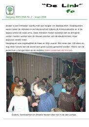 Jaargang 2005/2006 Nr. 2 – maart 2006 - Ouders