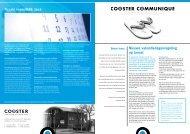 Nieuwsbrief zomer 2011 - Cooster coaching accountants BV
