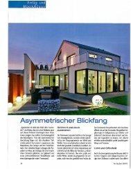 Asymrnetrisc - Baumeister Haus