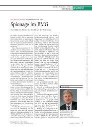 Streiflichter, Ausgabe 01/2013 - Kanzlei Sträter Rechtsanwälte