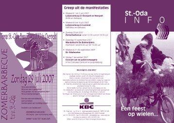 St-Oda Info Een feest op wielen - jrg 3 nr 2