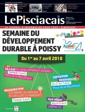 Numéro 36 | 25 mars 2010 - Ville de Poissy