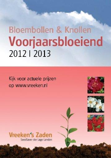 Voorjaarsbloeiende bloembollen - Groentezaden