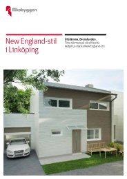 New England-stil i Linköping - Weblisher