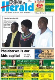 Page 1 Page 2 t'i DECEMBER Ell'lift PAGE |'_'.'. ' Phalaborwa: Aids ...