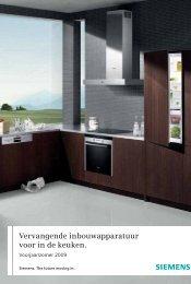 Vervangende inbouwapparatuur voor in de keuken. - Media Markt
