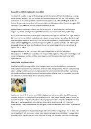 Rapport från IEM i Göteborg 1-3 mars 2013 - Bromma IF