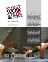 Hoe belangrijk Kunstwerkstede De Coene uit Kortrijk is ... - Dimension